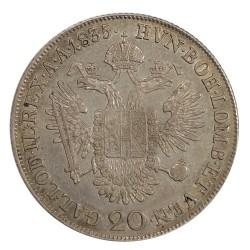 20 Kr 1835 C - František II. Rakúsko Uhorsko