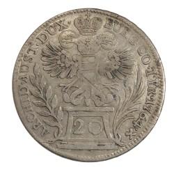 20 Kr 1764 Viedeň - Mária Terézia, Rakúsko Uhorsko