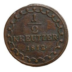 1/2 Kr 1812 S - František II. Rakúsko Uhorsko