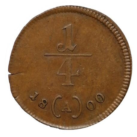 1/4 Kr 1800 A - František II. Rakúsko Uhorsko