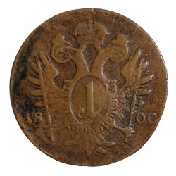 1 Kr 1800 E - František II. Rakúsko Uhorsko