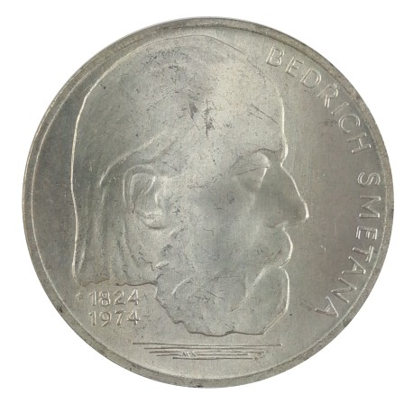 100 Kčs 1974, Bedřich Smetana, M. Knobloch, Československo (1960 - 1990)