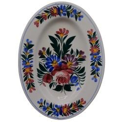 Oválny tanierik, Kremnica, vyrobený na území dnešného Slovenska