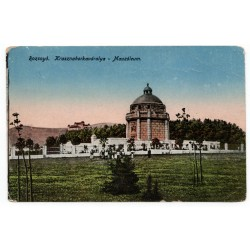 Rožňava, Krásnohorské podhradie - Mauzóleum, Rozsnyó, pohľadnica, Lévelezӧ-Lap.