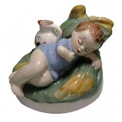 Spiaci chlapček s džbánikom, Royal Dux, Československo
