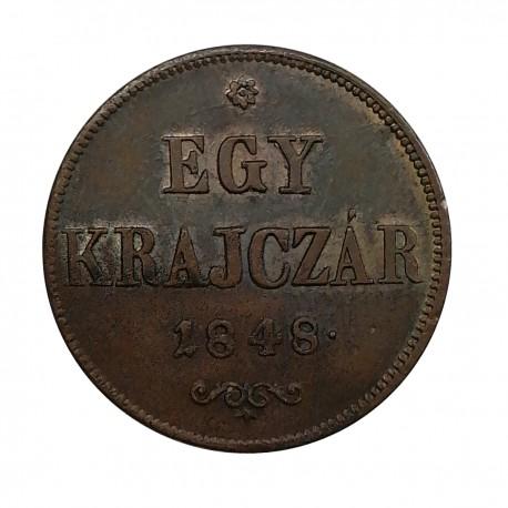 1 Kr 1848 - revolúcia 1848 - 1849, Rakúsko Uhorsko