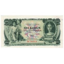 100 Kč 1931, séria Dc, SPECIMEN, Československo, UNC