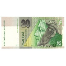 20 Sk 2004 S, Slovenská republika, UNC