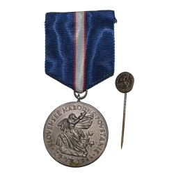 Slovenské Národné Povstanie 1944, II. trieda, postriebrený rád, Československo