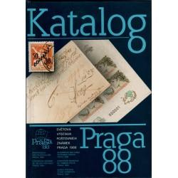 Praga 88, Světová výstava poštovních známek, katalóg, Praha 1988, Československo