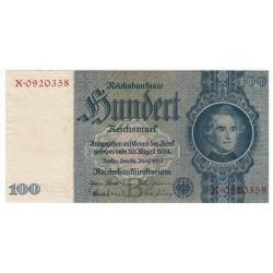 100 Mark 1935 X, Reichsbanknote, Nemecko, UNC