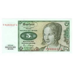 5 Deutsche Mark 1980, Nemecko, UNC