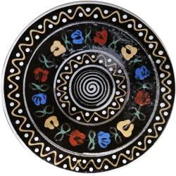 Malý tanier s kvetmi a slniečkom, Pozdišovská keramika, Československo