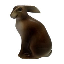 Zajac, Royal Dux, porcelán
