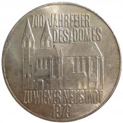 100 Schilling 1979, 700. Jahrfeier des Domes zu Wiener Neustadt, Rakúsko