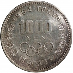 1 000 yen 1964, Olympic Games, Tokyo, Japonsko