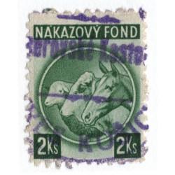 2 Ks - nákazový fond, zelená, Slovenský štát
