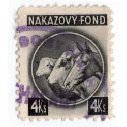 4 Ks - nákazový fond, čierna, Slovenský štát