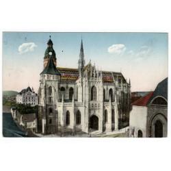 14. VIII. 1927 - Dóm svätej Alžbety, Košice, adresát J. Vlasák - 45. velmistr Křižovníků s červenou hvězdou