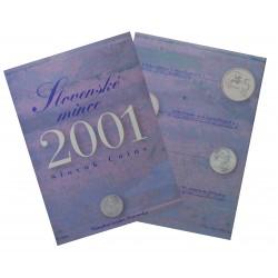 2001 - Slovenské mince, sada mincí, BK, Slovenská republika