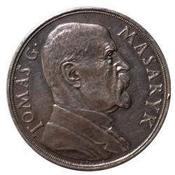 T. G. Masaryk na pamět 85. narozenin, 1935, 42 mm, O. Španiel, AR medaila