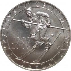 200 Kč 2003, 100. výročí ustavení Svazu lyžarů v Čechách, Česká republika