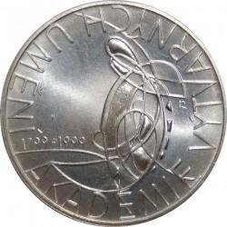 200 Kč 1999, 200. výročí založení Akademie výtvarných umění, Česká republika