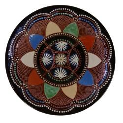 Michal Parikrupa, Vyškrabávaný tanier, Pozdišovská keramika, Československo