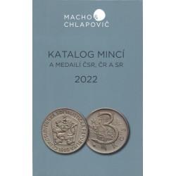 Katalóg mincí a medailí ČSR, ČR a SR 2022, Macho & Chlapovič, 8. vydanie 2021