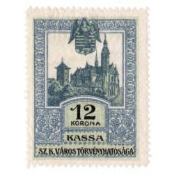 1913 - 12 korona KASSA, mestský kolok Košice, náklad 2 725 kusov, Rakúsko - Uhorsko