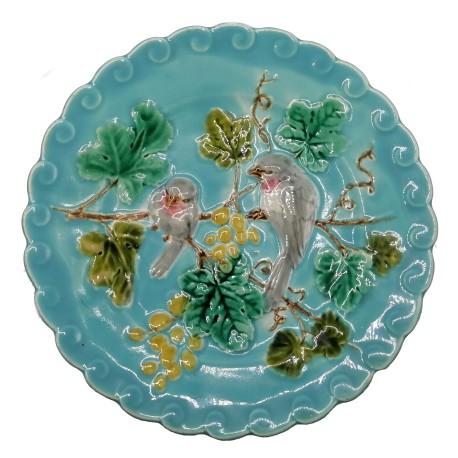 Tanierik s vtáčikmi, Sarregumines, keramika, Francúzsko