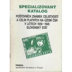 Specializovaný katalog poštovních známek celistvostí a celin platných na území ČSR v letech 1939 - 1945 Slovenský stát, Hirš