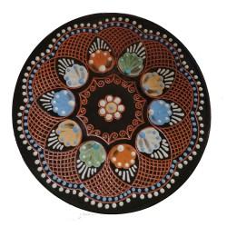 Vyškrabávaný tanierik, J. Parikrupa, Pozdišovská keramika